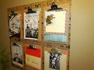 DIY: Dekoracja na ścianę z podkładek pod kartki