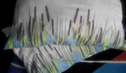Poduszka z tkaniny od Cottonbee