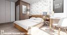 Projekt wnętrz mieszkania w Katowicach, 81m²